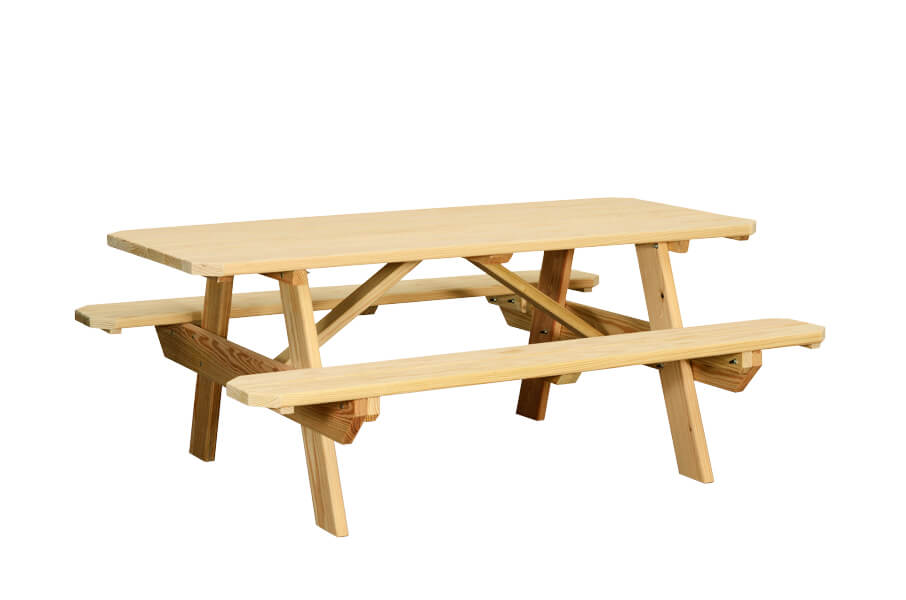 Phenomenal Table With Benches Attached Gene Lilly Pools Spas Games Ibusinesslaw Wood Chair Design Ideas Ibusinesslaworg