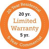 Finch Warranty 20 yr / 5yr