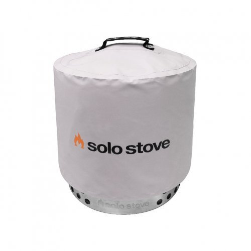 Solo Stove Range fire pit cover / shelter sold by Gene Lilly Pools and Spas